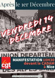 14 Décembre 2018 L'Heure est à la mobilisation @ CADAM (prefecture des AM)