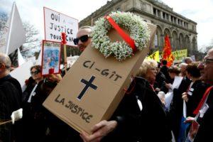 Mobilisation contre la réforme de la justice Mardi 15 janvier @ Conseil des Prud'hommes de Nice